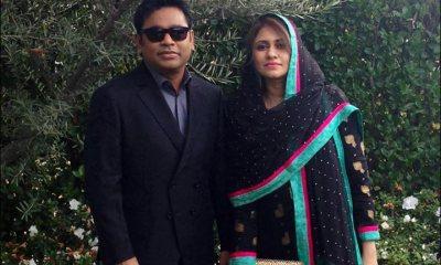 A R Rahman Wife saira banu Images