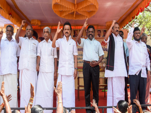 Cauvery Protests Opposition Parties in Tamil Nadu to hold Demonstrations Across State on April 23