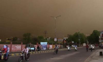 High-Intensity Storm Hits Parts of Rajasthan