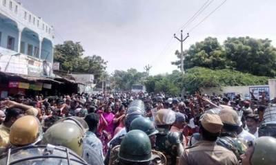 police open fire in tuticorin