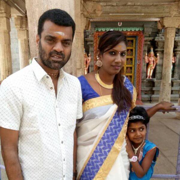 Thadi Balaji Wife
