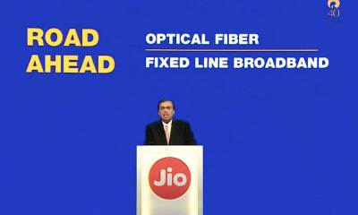 Reliance to Launch Fixed Line Broadband Service