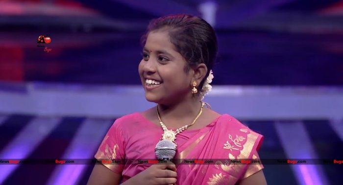 Dharshini Super Singer Junior 6