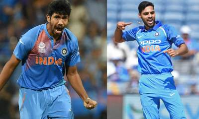 India's squad for last three ODIs against Windies