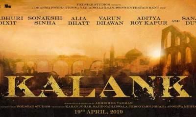 Kalank Hindi Movie