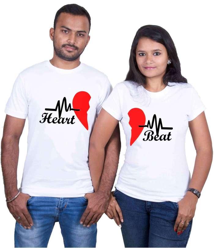 Love Heart Couple T-Shirt