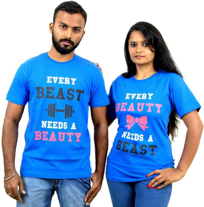 Beauty and Beast Couple T-Shirt