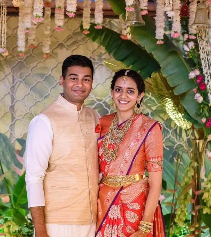 Aashritha Daggubati Husband Vinayak Reddy