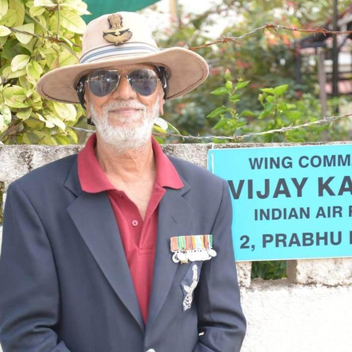Squadron Leader Vijay Karnik