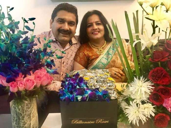 Anil Singhvi Wife Neetu