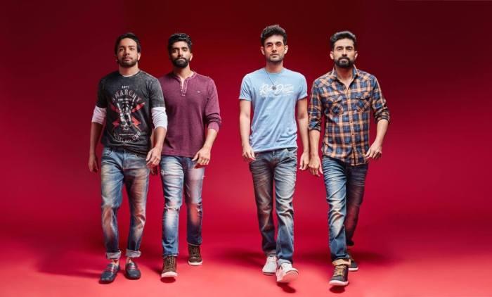 Keshav with his Sanam Members
