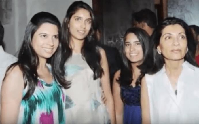 Rekha Mallya Family