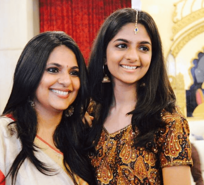 Richa Anirudh Daughter Ayesha Anirudh Thatte