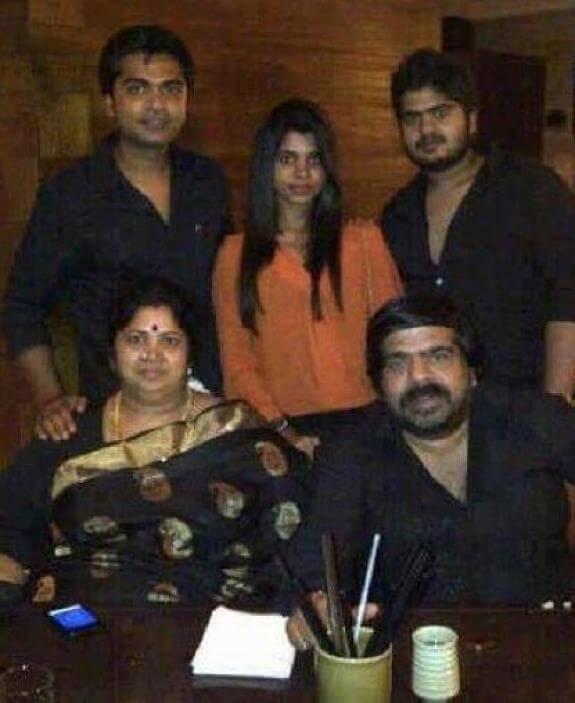 Ilakkiya Rajendar Family