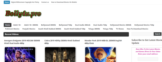 Bolly4u Movies 2019: New Bollywood, Hollywood, Punjabi, Hindi Dubbed