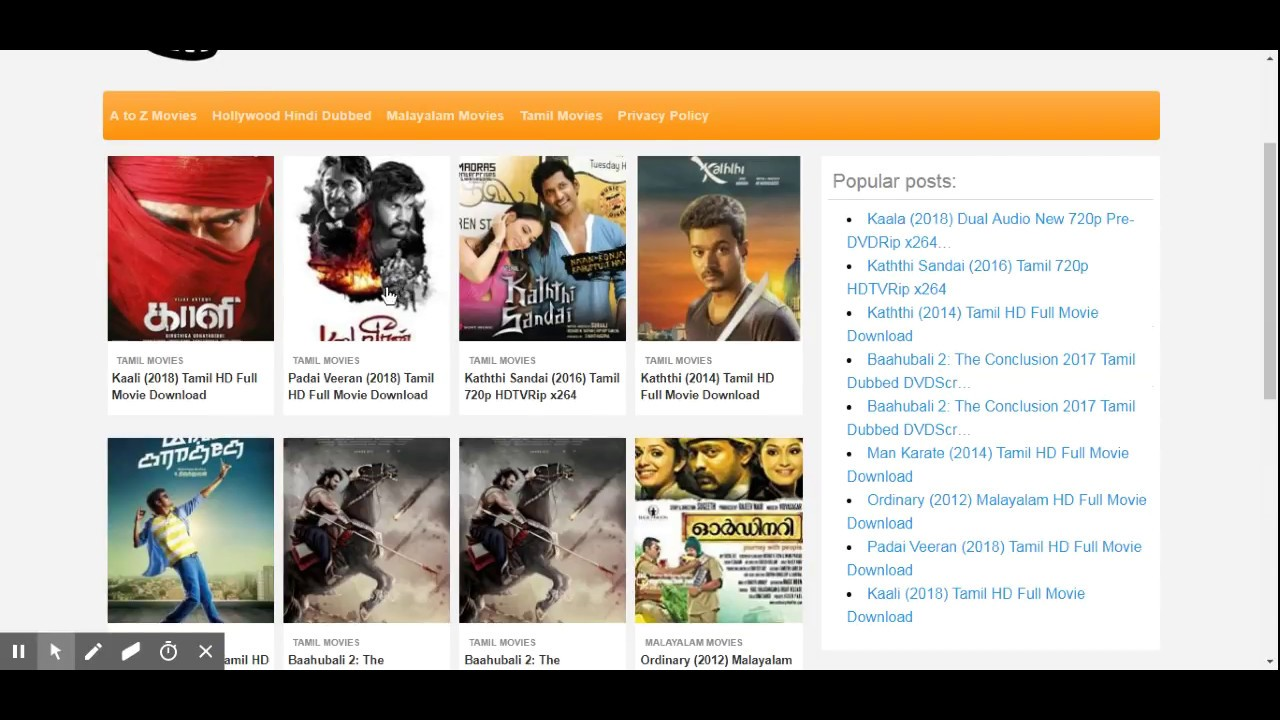 tamil movies online download sites