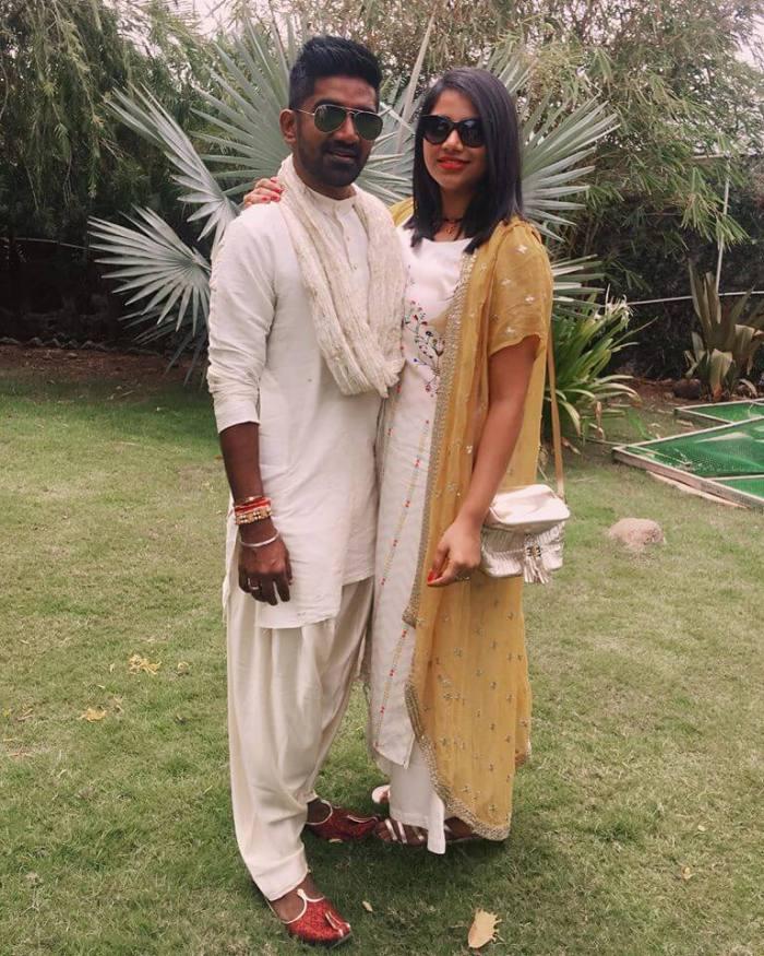 Dharan Kumar Wife Deekshitha Manikkam