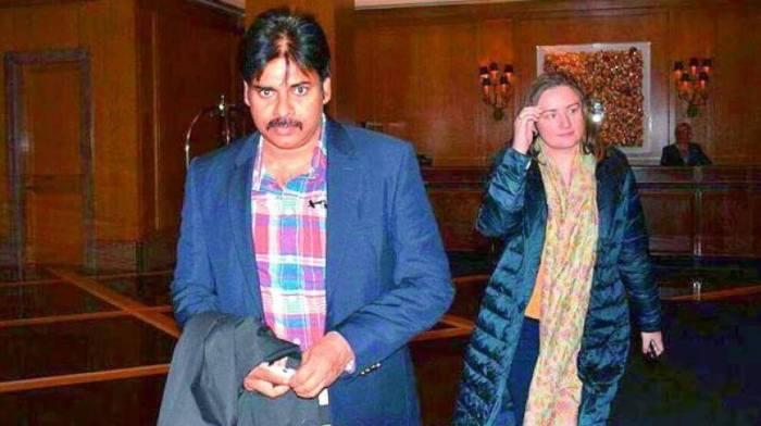 Pawan Kalyan Wife Anna Lezhneva