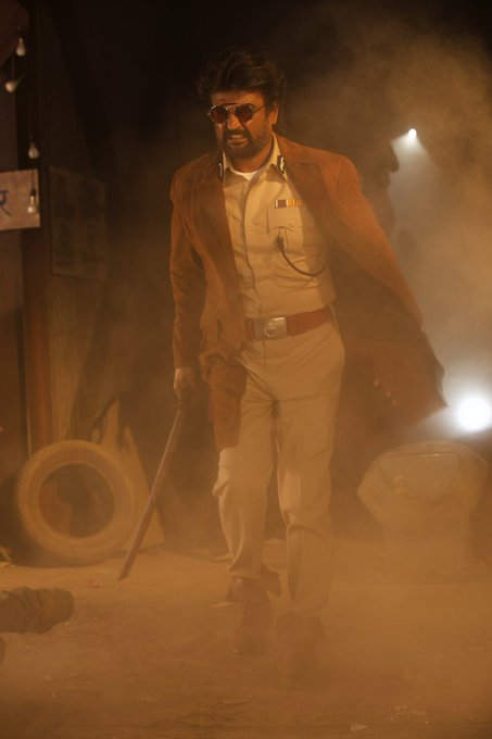 Darbar rajinikanth HD Stills