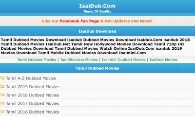 Isaidub Movies
