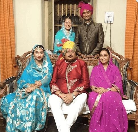Mohena Kumari Singh Family