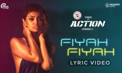 fiyah fiyah tamil song action