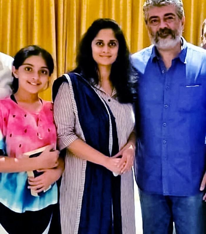 Ajith Kumar Daughter Anoushka