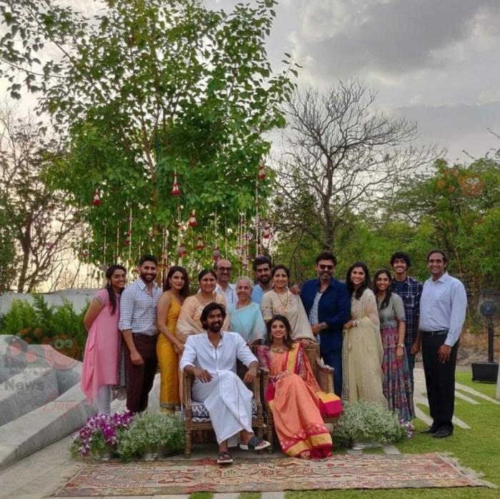 Rana Daggubati Miheeka Bajaj Wedding