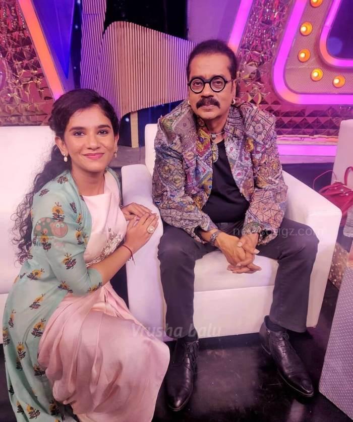 Vrusha Balu super singer