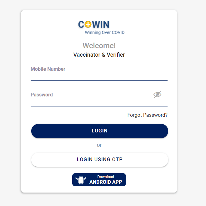 Co-Win (2021): How to Register, SignIn for Vaccination   Covaxin & Covishield
