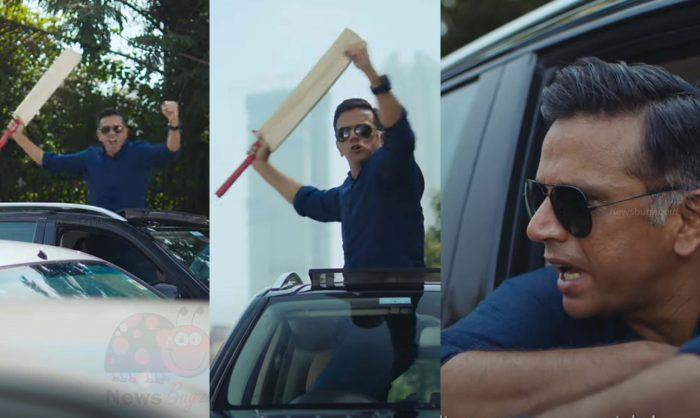 Rahul Dravid Angry Ad Video | CRED