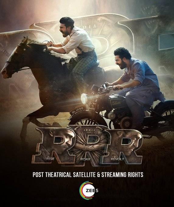 Watch the film Roudram Ranam Rudhiram (RRR) (2022) on ZEE5