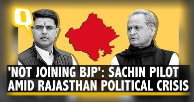 Rajasthan Political Crisis: After Sachin Pilot's Rebellion, Congress Says 'All Is Well' | The Quint