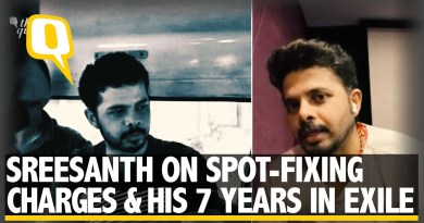 Sreesanth Opens Up About Spot-Fixing Charges and His 7 Years in Exile   The Quint