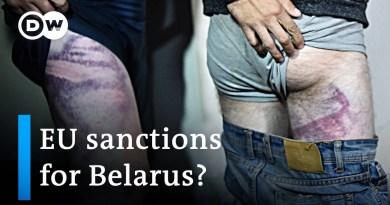 EU commission chief Von der Leyen supports sanctions on Belarusian officials   DW News