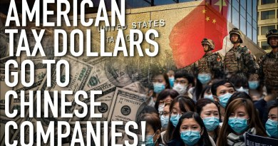 U.S. Economic Collapse Intensifies As Hard-Earned American Tax Dollars Go To Chinese Companies
