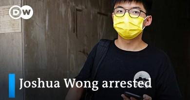 Hong Kong democracy activist Joshua Wong arrested | DW News