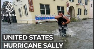 Huge floods, 'unreal' rain as Hurricane Sally hits US Gulf Coast
