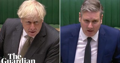 Johnson and Starmer clash over coronavirus testing and tracing at PMQs