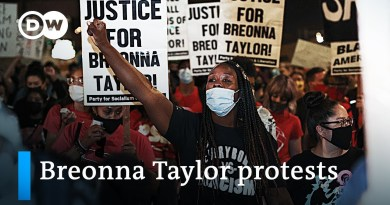 Protests erupt after decision not to charge police officers for killing Breonna Taylor | DW News