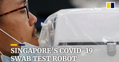 Singapore's Covid-19 swab test robot helps reduce infection risk for health care workers