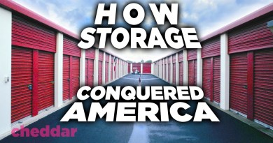 Why Self-Storage Is Suddenly Everywhere – Cheddar Explains