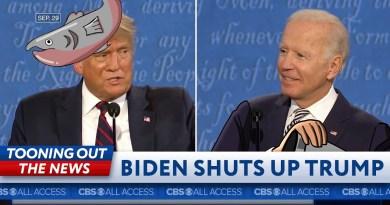 Biden attempts to shut up Trump