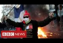 Clashes in Paris as thousands protest against racism and police violence – BBC News