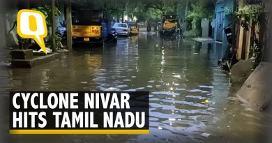 Cyclone Nivar Lashes Across Tamil Nadu-Puducherry Coast, Heavy Rain Expected | The Quint