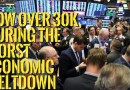 👉Dow Jones over 30K, During The Worst Economic Meltdown !!
