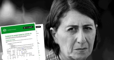 Gladys Berejiklian breaks Covid self-isolation rule she's spent months telling NSW to follow