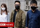 Joshua Wong pleads guilty in Hong Kong trial – BBC News