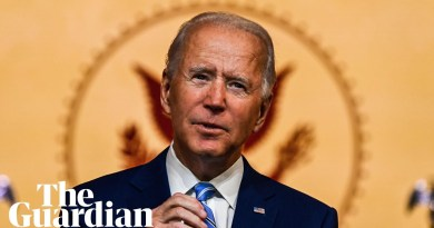 'Our democracy was tested this year': Joe Biden's Thanksgiving address