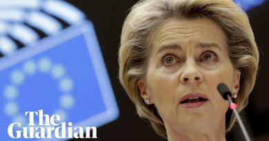 'Trust is good but law is better': Ursula von der Leyen calls for clear Brexit rules